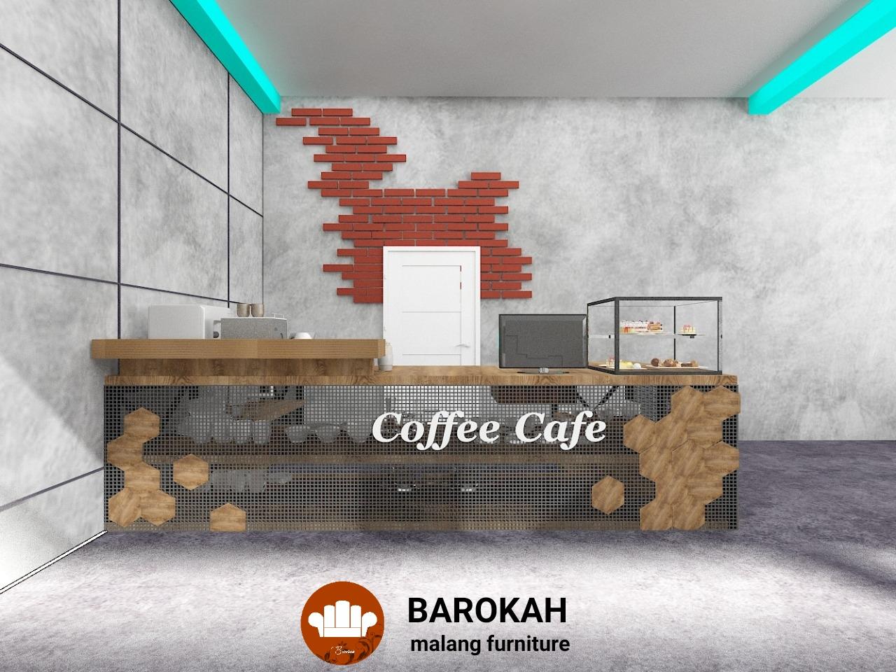 INTERIOR SIMPLE MODERN UNTUK CAFE MILIKI BPK. STEFANUS